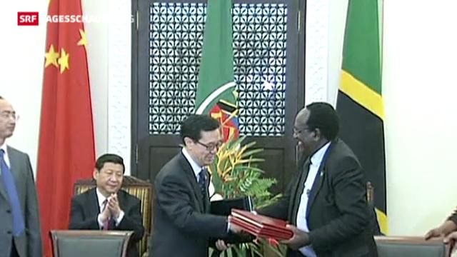 China und Tansania verstärken Partnerschaft