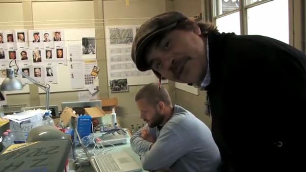 Video «Produktionstour bei «Dinu – Dr Schwärchraft entgäge»» abspielen