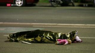 Video «Terror in Nizza: Anschlag fordert über 80 Tote» abspielen