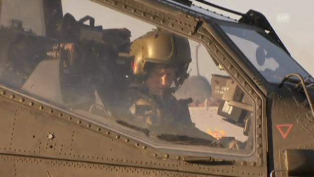 Video «Einblick in Harrys Afghanistan-Alltag (unkomm. Video)» abspielen