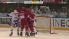 Video «Eishockey: NLA, Lausanne - Kloten» abspielen