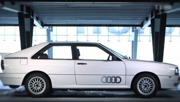 Video ««Audi Quattro» – Der Rallye-Pionier» abspielen