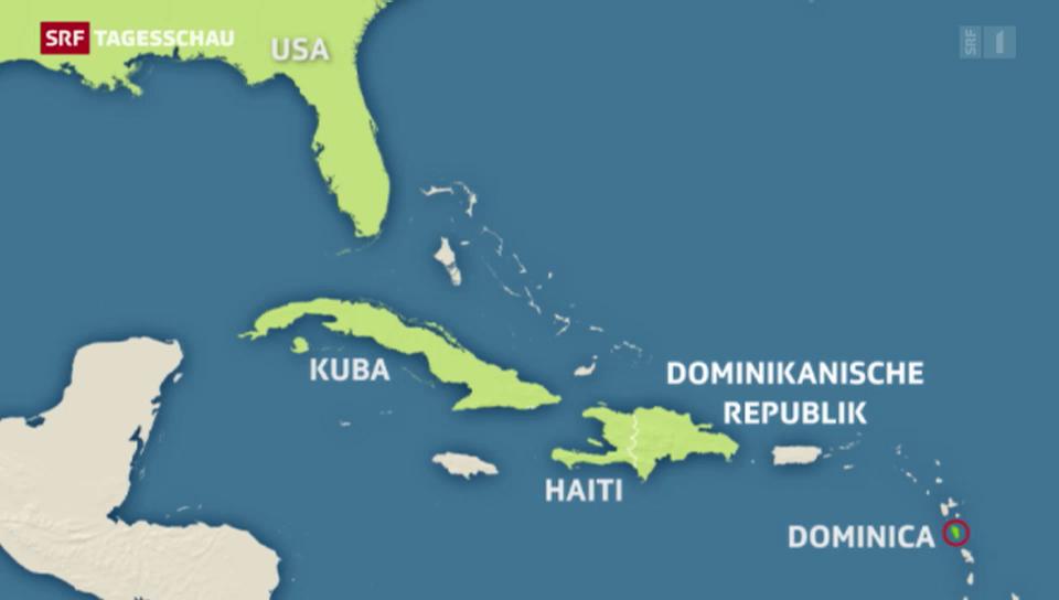 Mindestens 20 Tote nach Tropensturm Erika