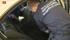 Video «Grenzwächter decken Heroin-Schmuggel in Autobatterie auf» abspielen