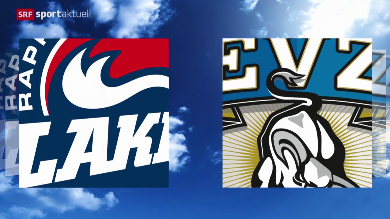 Eishockey: NLA, Lakers - Zug