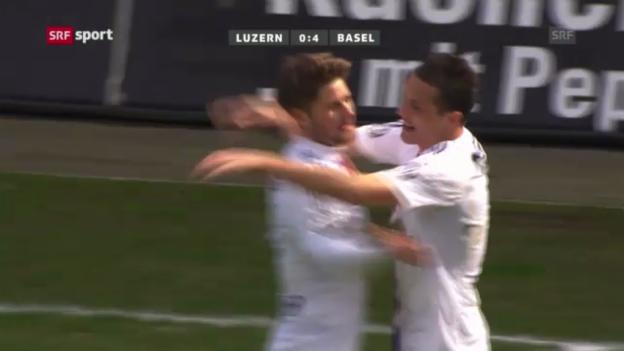 Video «Fussball: Luzern - Basel («sportaktuell»)» abspielen