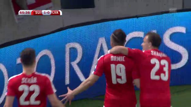Video «Schweiz - Lettland: Die Live-Highlights» abspielen
