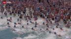 Video «Seeüberquerung bei Traumwetter» abspielen