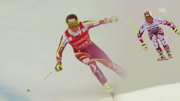 Video «Ski: Duell Jansrud - Reichelt um den Abfahrtsweltcup» abspielen