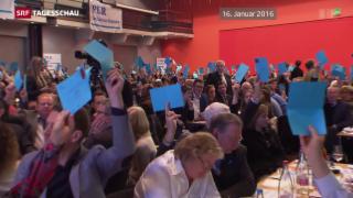 Video «Durchsetzungsinitiative: Kampf um FDP-Basis» abspielen