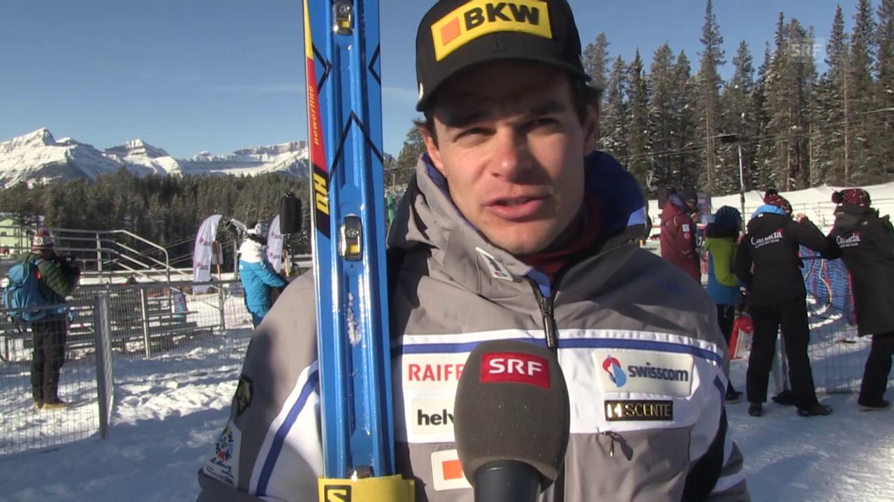 Ski: Training Lake Louise, Interview Patrick Küng