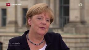 Video «Merkel zur Flüchtlingspolitik» abspielen