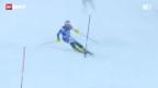 Video «Ski alpin: Slalom der Männer» abspielen