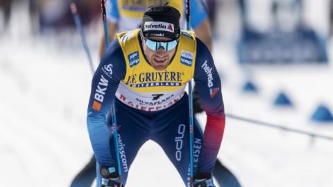 Dario Cologna suenter 15 kilometers a Silvaplauna