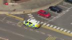 Video «Verhaftung nach U-Bahn-Attentat» abspielen