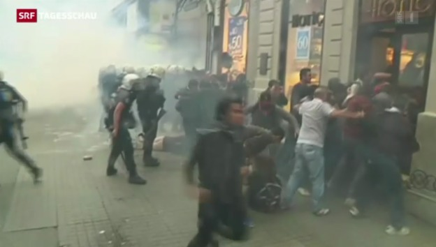 Video «Proteste in Istanbul» abspielen