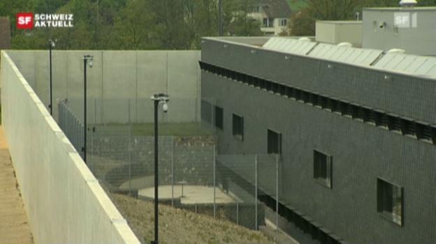 Video «Aargauer Zentralgefängnis in Lenzburg eröffnet» abspielen