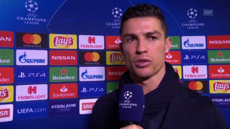 Link öffnet eine Lightbox. Video Das meint Ronaldo zur Niederlage gegen YB abspielen