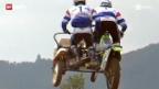 Video «Motocross: Seitenwagen-WM in Roggenburg» abspielen