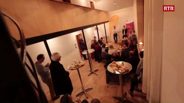 Laschar ir video «Café Rumantsch cun la directura a Lumbrein»