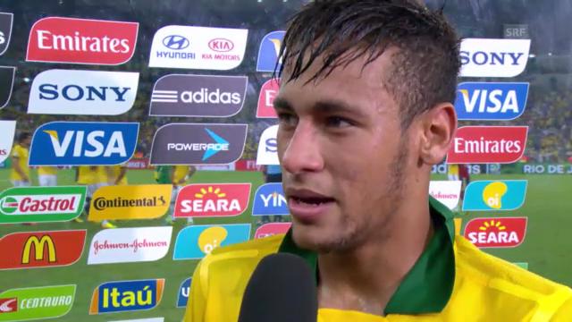 Neymar im Interview (portugiesisch)