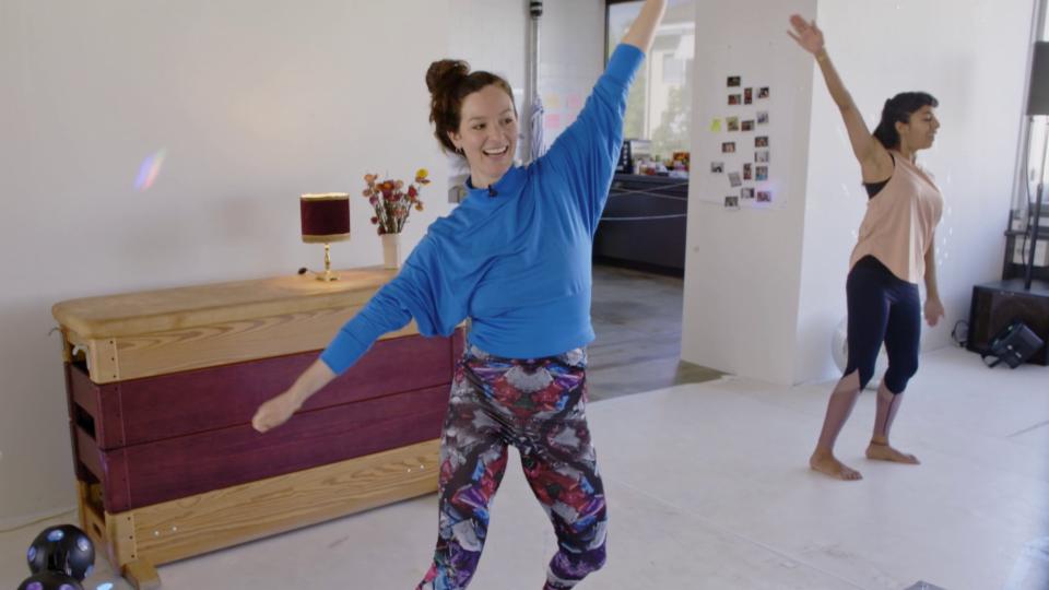 «Achtung, fertig, fit!» mit Tänzerin Silvana Lemm