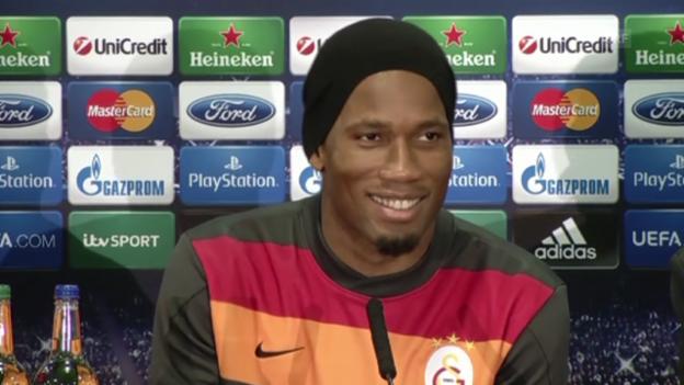 Video «Fussball: Didier Drogba zur Rückkehr an die Stamford Bridge (Quelle: SNTV)» abspielen