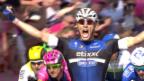 Video «Kittel gewinnt die 2. Giro-Etappe» abspielen