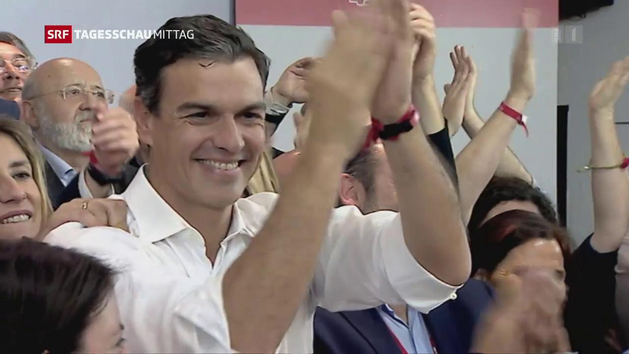 Sánchez wieder Chef der Sozialisten
