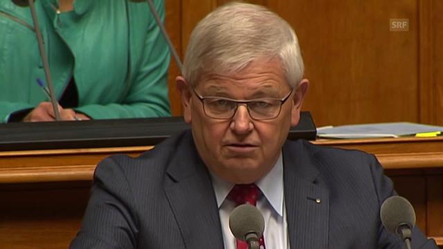 Max Binder ist gegen die Finanzierung der FABI-Vorlage
