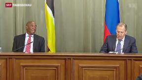 Video «Russland kritisiert Ukraine» abspielen