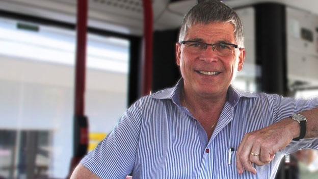 Stolzer Gemeindepräsident Bernhard Graf
