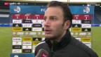Video «Fussball: Luzern - GC, Stimmen zum Spiel» abspielen