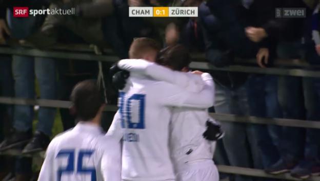 Video «Rossinis Treffer im Cup gegen Cham» abspielen