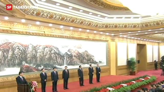 Xi Jinping offiziell höchster Mann Chinas