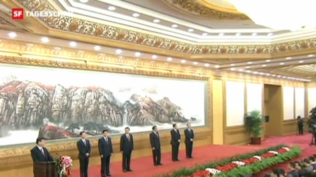 Video «Xi Jinping offiziell höchster Mann Chinas» abspielen