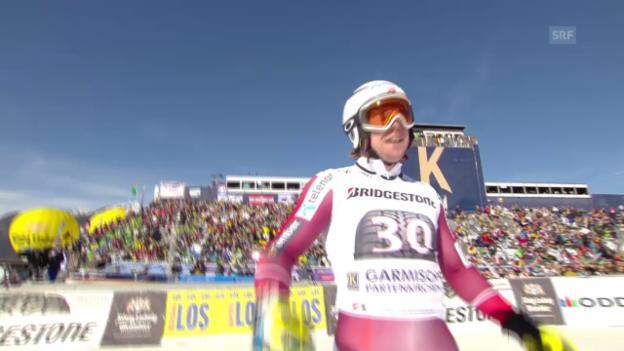 Video «Kildes Siegfahrt in Garmisch-Partenkirchen» abspielen