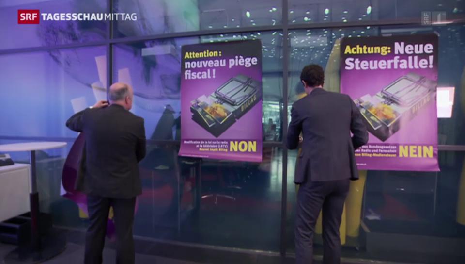 Der Gewerbeverband macht mobil gegen das neue Radio- und TV-Gesetz