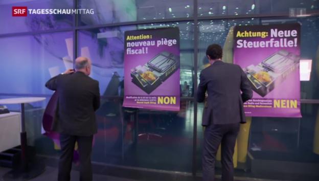 Video «Der Gewerbeverband macht mobil gegen das neue Radio- und TV-Gesetz» abspielen