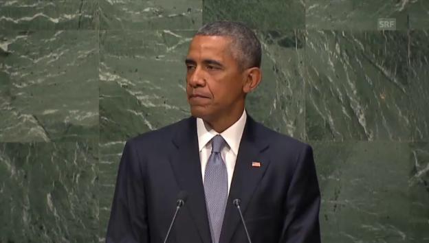 Video «Obama: «Syrien braucht einen neuen Leader»» abspielen