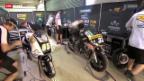 Video «Motorrad: Das Lüthi-Team während der Abwesenheit des Schweizers» abspielen