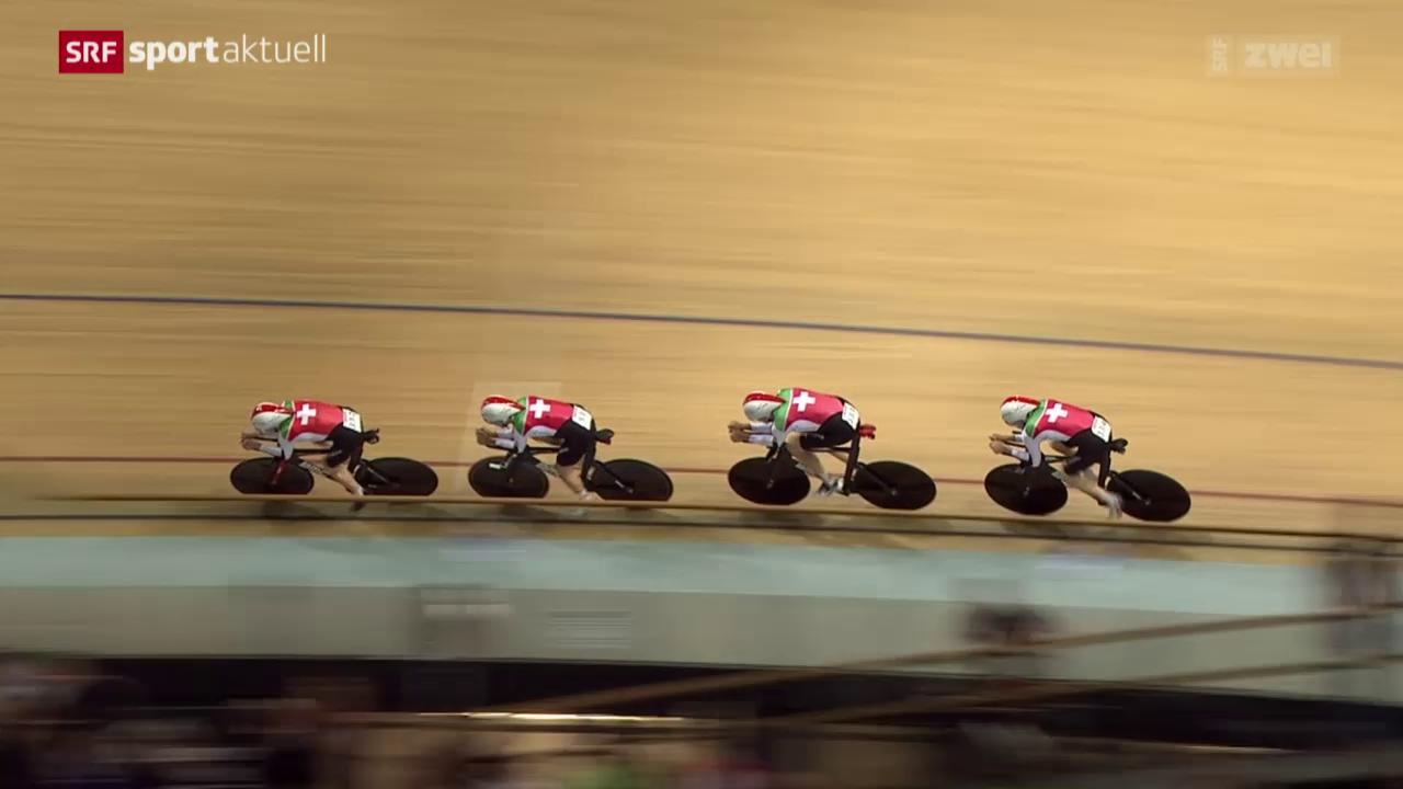 Rad: Bahn-WM in Frankreich, Teamverfolgung
