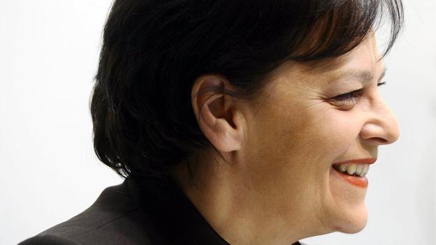 Finanzdirektorin Ursula Gut im Gespräch mit Nicole Freudiger (8.3.2013)