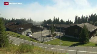 Video «Asylzentrum auf dem Glaubenberg öffnet früher» abspielen