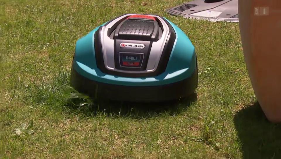 27.05.14: Roboter-Rasenmäher im Test: Von störrisch bis gut