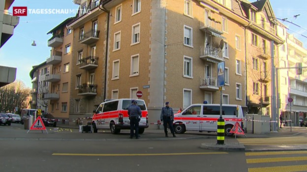 Video «Schiesserei in Zürich-Wiedikon» abspielen