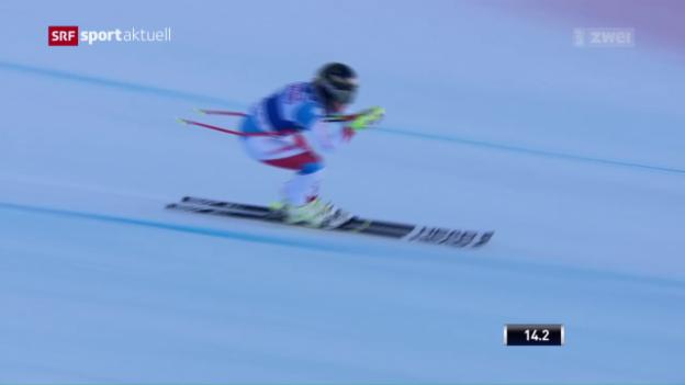 Video «Lara Gut und Co. vor den Rennen in Val d'Isère» abspielen