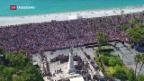 Video «Frankreich gedenkt der Opfer von Nizza» abspielen