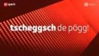 Video ««Tscheggsch de Pögg» – Warum schmieren Handballer Harz an den Handball?» abspielen