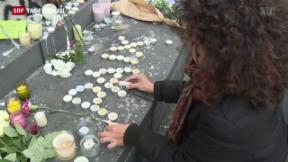 Video «Trauer und Beklommenheit nach Terror-Attacken» abspielen